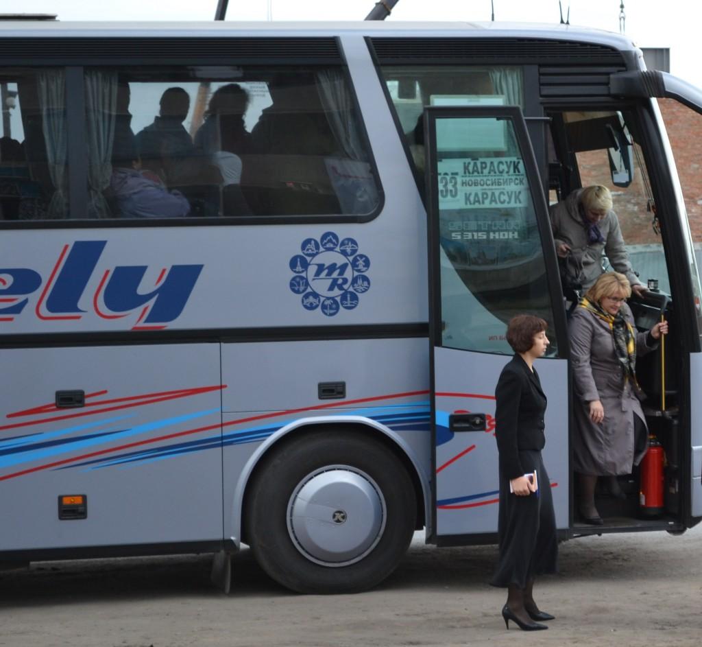 Первая выездная экскурсия по Карасуку в День туризма 2013 г.