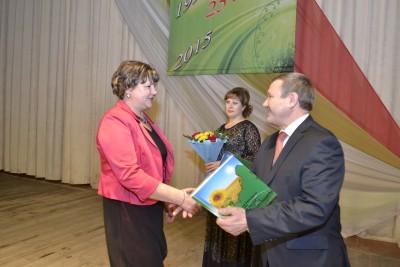 награждение грамотой главы Карасукского района коллектива Карасукского краеведческого музея