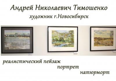 выставка Тимошенко в музее г.Карасук