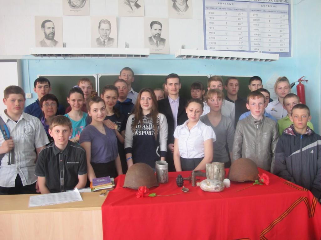 На презентации в Чулымской школе Здвинского района