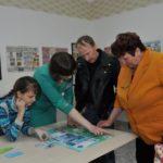 Кузьмичёва О.А. в зале нумизматике с нвоым интерактивом