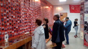 встреча в музее 9 мая Карасук